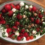 Tomato, Mozarella & Basil Salad